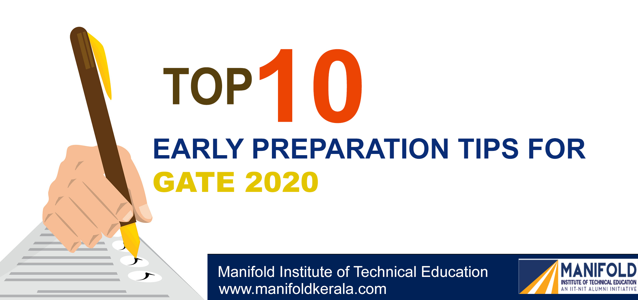 Top 10 Early Preparation tips For GATE 2020 - MITE